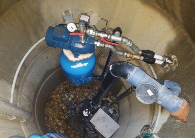 Brunnen Pumpentechnik Beregnung